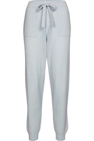 Jardin des Orangers Dame Chinos - Wool and cashmere trackpants