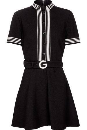 Gucci Wool crêpe minidress