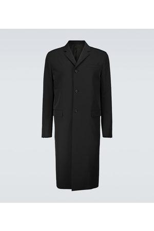 Prada Single-breasted technical overcoat