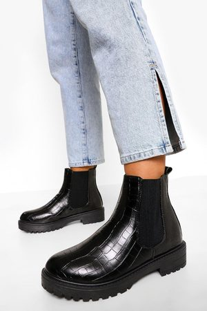 Boohoo Dame Chelsea boots - Chunky Chelsea Boots