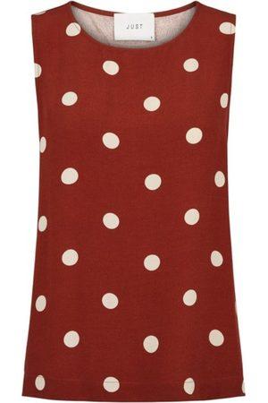 Just Female Dame Singleter - Caia top polka dot