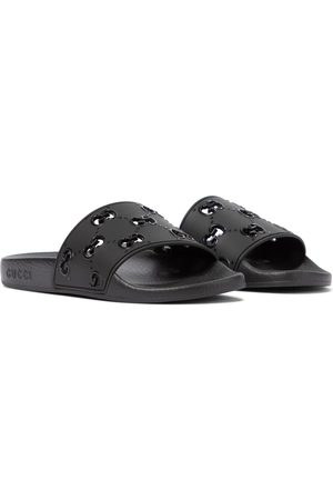 Gucci GG rubber slides