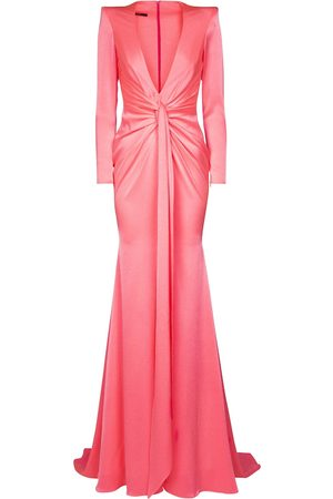 ALEX PERRY Exclusive to Mytheresa – Kingston crêpe satin gown