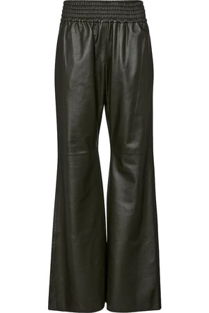 GABRIELA HEARST Themis high-rise leather pants