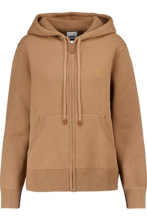 Burberry Cashmere-blend hoodie
