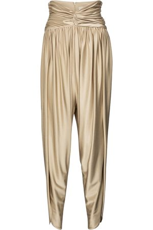 ALEXANDRE VAUTHIER High-rise pleated pants