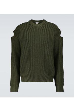 Bottega Veneta Knitted sweater with slit sleeves
