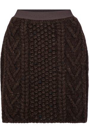 Bottega Veneta Wool tweed miniskirt