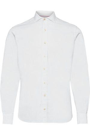 Hackett Nat Strch Multi Trim Skjorte Business
