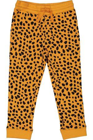 Stella McCartney Cheetah-print cotton trackpants