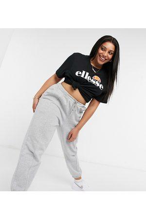 Ellesse Plus boyfriend t-shirt in black