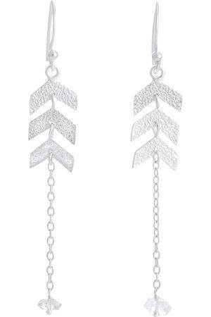 PapayaOslo Direction Herkimer Diamond Earrings