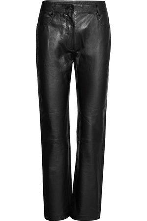 Dagmar Naoko Leather Leggings/Bukser