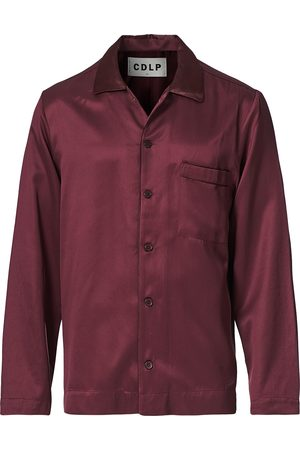 CDLP Home Suit Long Sleeve Top Burgundy