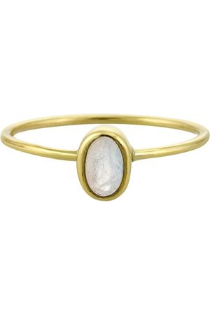 PapayaOslo Oval Facet Moonstone ring