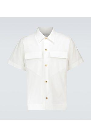 Bottega Veneta Short-sleeved cotton shirt