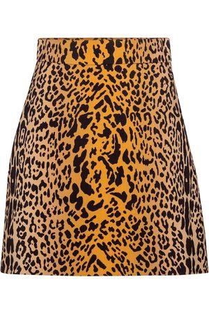 Miu Miu Sequined tweed miniskirt