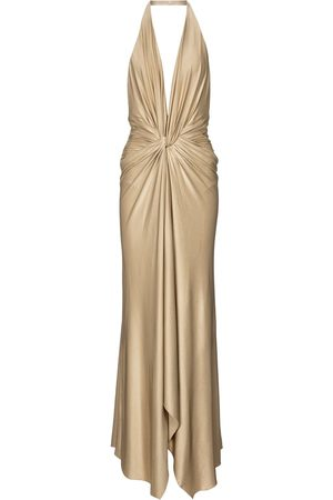 ALEXANDRE VAUTHIER Halterneck stretch-jersey maxi dress