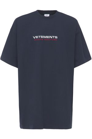 Vetements Haute Couture Logo Cotton T-shirt