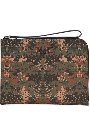 Giuseppe Zanotti Fabian camouflage-print clutch