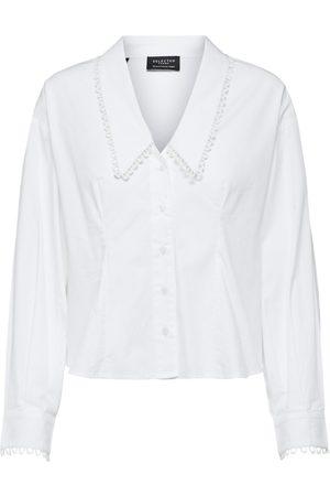 Selected Bright Slfromance Ls Shirt B Shirts