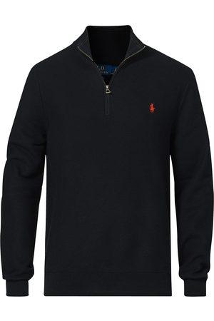 Polo Ralph Lauren Textured Half-Zip Black