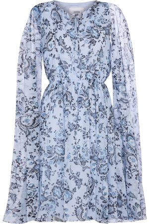 Erdem Dame Capes - Austin silk voile cape minidress