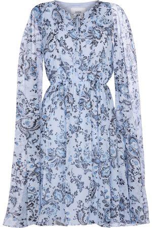 Erdem Dame Capes - Austin silk voile cape minidress