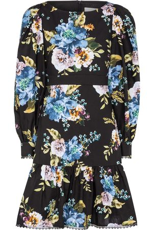 Erdem Rydal floral cotton-poplin minidress