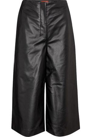 Altuzarra High-rise wide leather pants