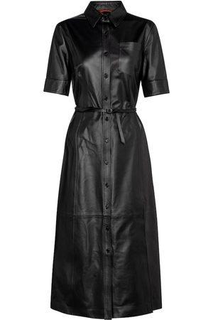 Altuzarra Kura leather midi dress