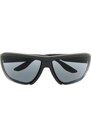 Prada Herre Solbriller - Wraparound tinted sunglasses