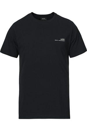 A.P.C. Herre Kortermede - Item Short Sleeve T-Shirt Black