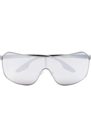 Prada Herre Solbriller - Sport mirrored aviator sunglasses