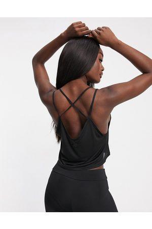 PUMA Studio strappy vest in black