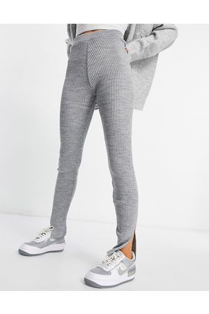 I saw it first Knitted leggings in grey