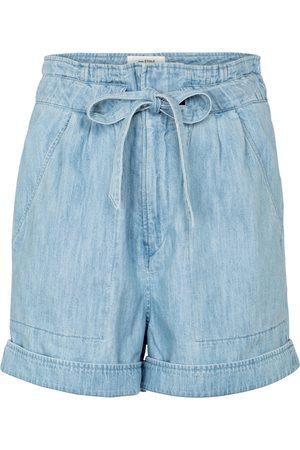 Isabel Marant Marius paperbag cotton shorts