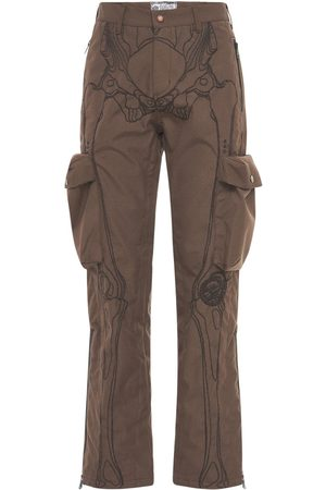 Formy Studio Ultrasound Embroidered Cargo Pants