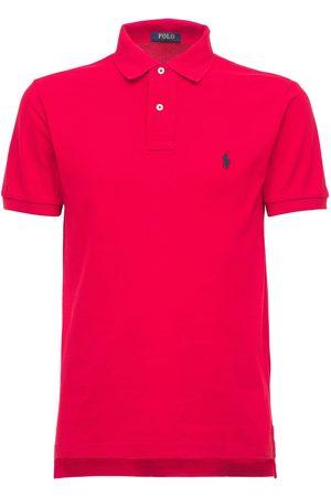 Polo Ralph Lauren Classic Slim Fit Cotton Piqué Polo Shirt