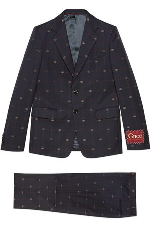Gucci GG wool suit