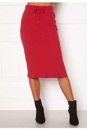 Happy Holly Emilia midi skirt Dark red 32/34