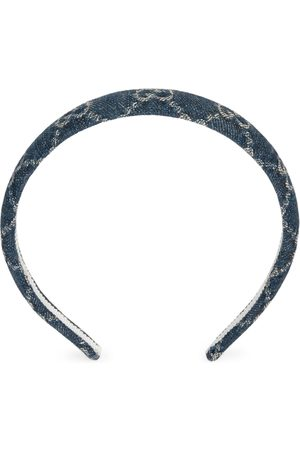 Gucci Eco washed denim hair band