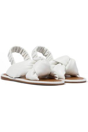 Miu Miu Dame Sandaler - Leather sandals