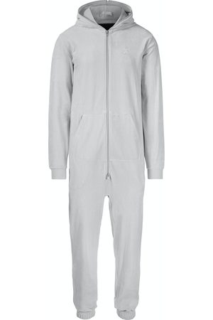 Onepiece Onesies - Original Velvet Jumpsuit Light Grey