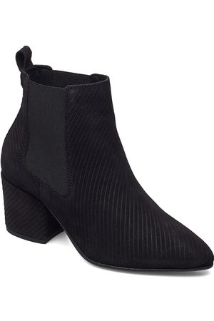 Bianco Dame Skoletter - Biacia Suede Chelsea Boot Wf Shoes Boots Ankle Boots Ankle Boot - Heel