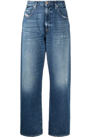 Diesel Tapered wide-leg jeans