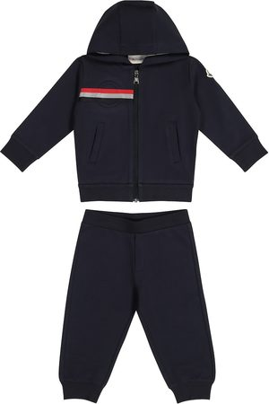 Moncler Loungewear - Baby hooded tracksuit