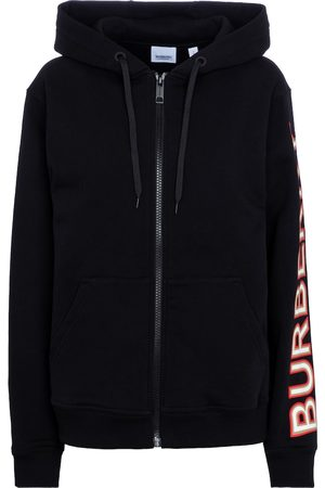 Burberry Dame Hettegensere - Zipped cotton hoodie