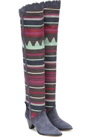 Isabel Marant Luiz suede over-the-knee boots