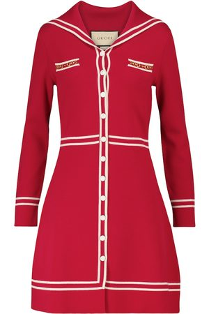 Gucci Dame Kjoler - Wool minidress